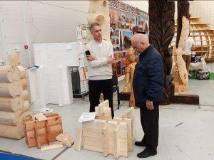 Представляем технологию Двойной Брус на строительной выставке
