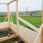 """Строительство дачного домика из минибруса, технология """"балка-стойка"""""""