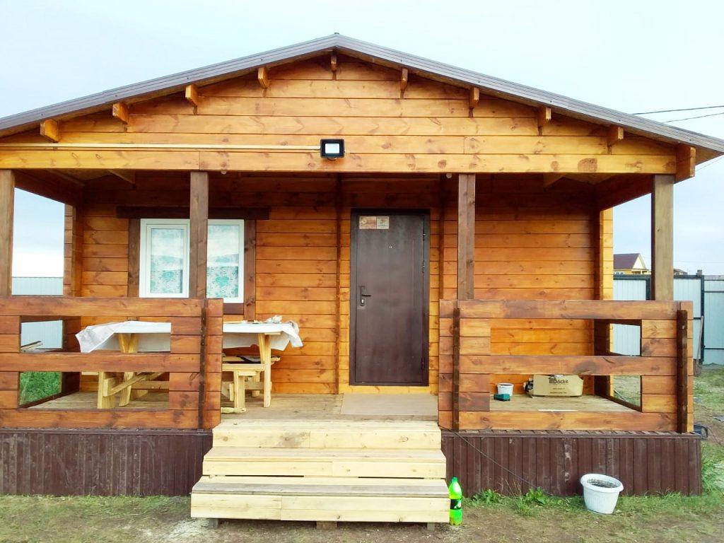 Летний домик из минибруса оз. Белё