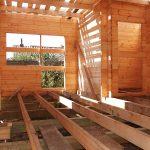 Строительство загородного домика из Двойного бруса