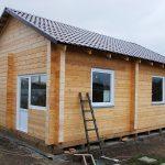 Строительство загородного дома из Двойного бруса Железногорск