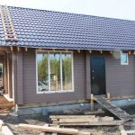Строительство загородного дома технология Двойной брус