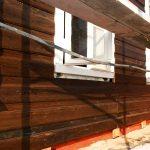 отделка стен вагонкой из лиственницы