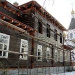 Летний дом архиерея Красноярский Успенский мужской монастырь