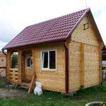 строительство дачного домика из минибруса своими руками